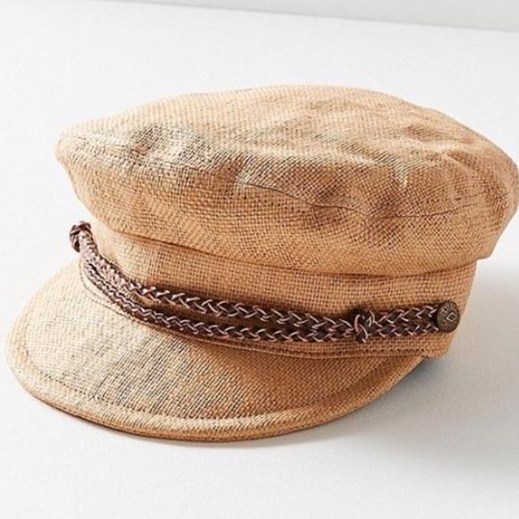 35f000e7026fc Brixton Kayla Straw Cap (Small 56 cm)